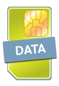 Data SIM with 200MB